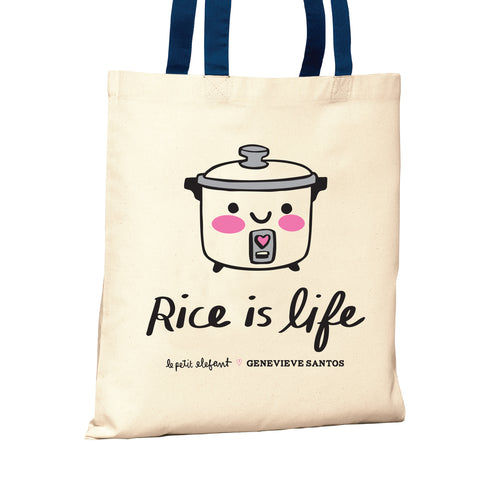Rice is Life Tote Bag