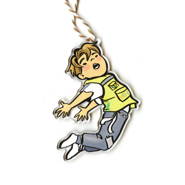 Flying Jin Holiday Ornament