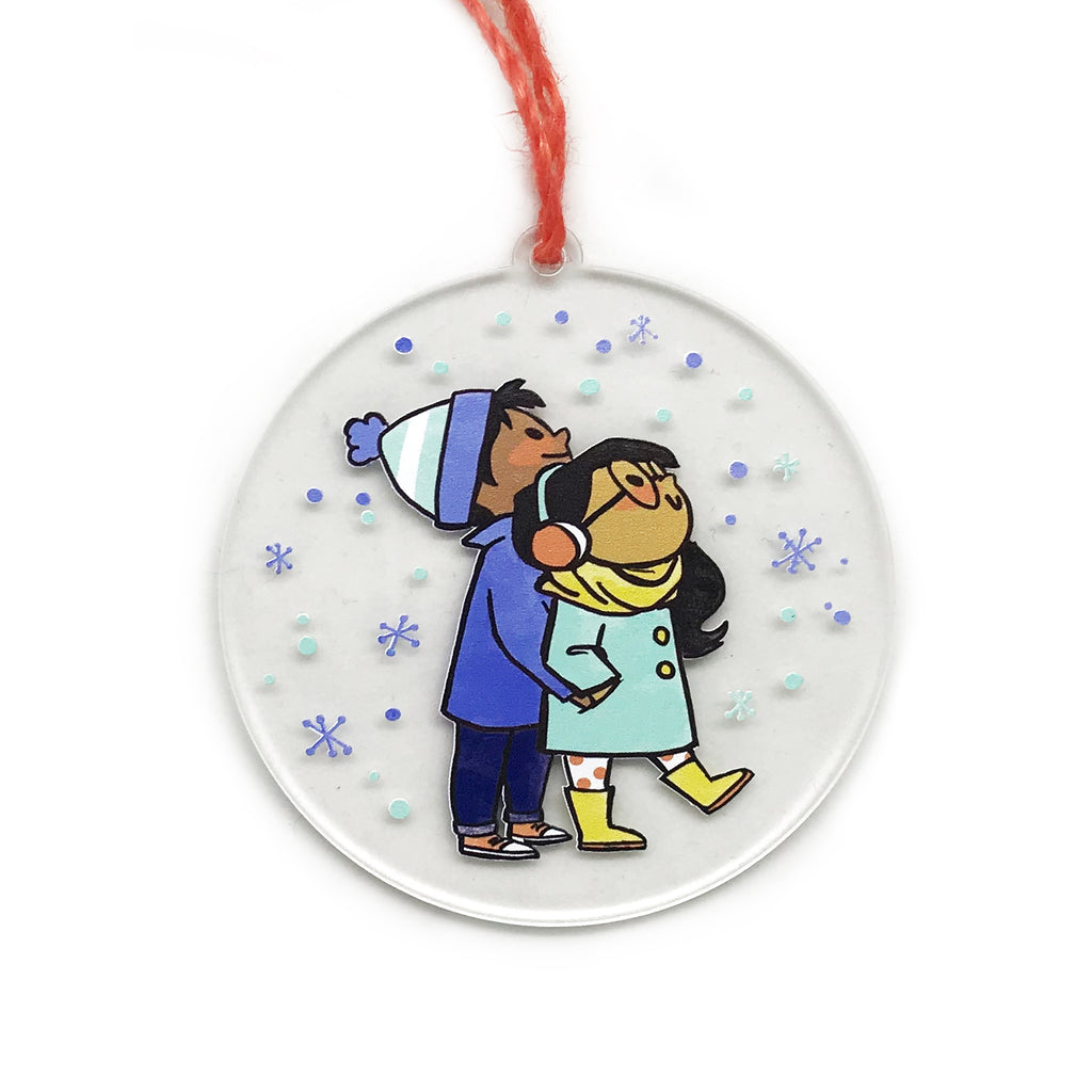 Snowfall Holiday Ornament