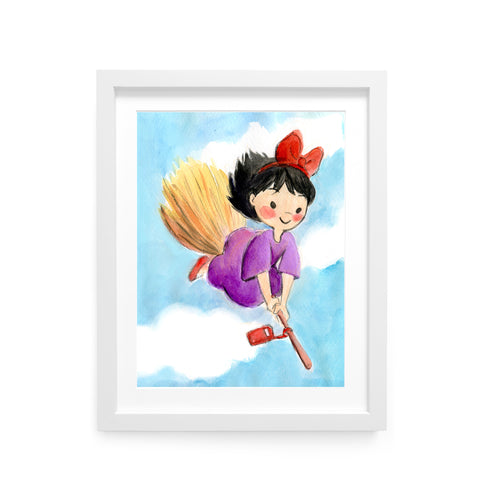 Kiki Limited Edition Art Print