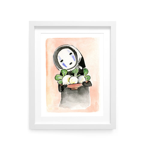 ACNH Daisy Mae No Face Limited Edition Art Print