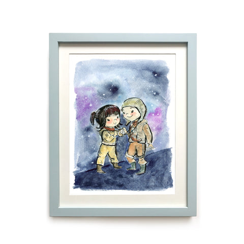 Paige and Rose Tico Limited Edition Art Print