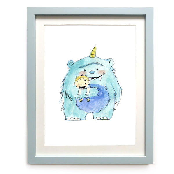 Best Buddies Art Print