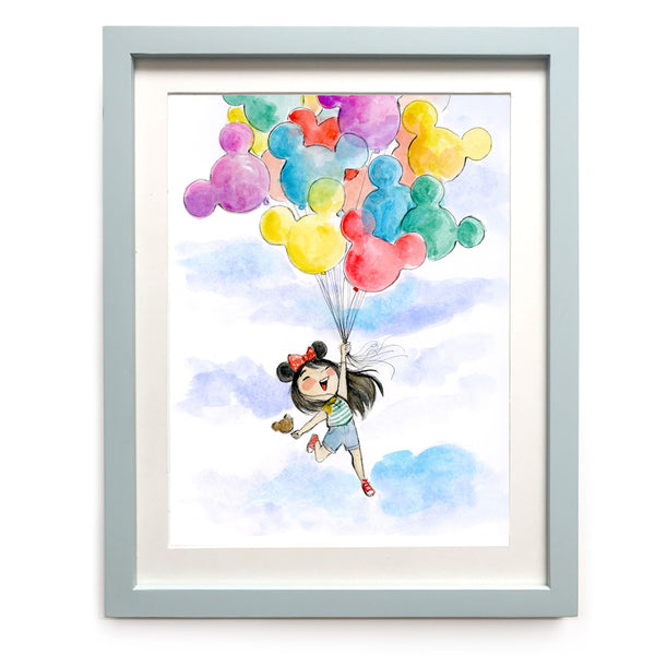 The Happiest Girl Limited Edition Art Print