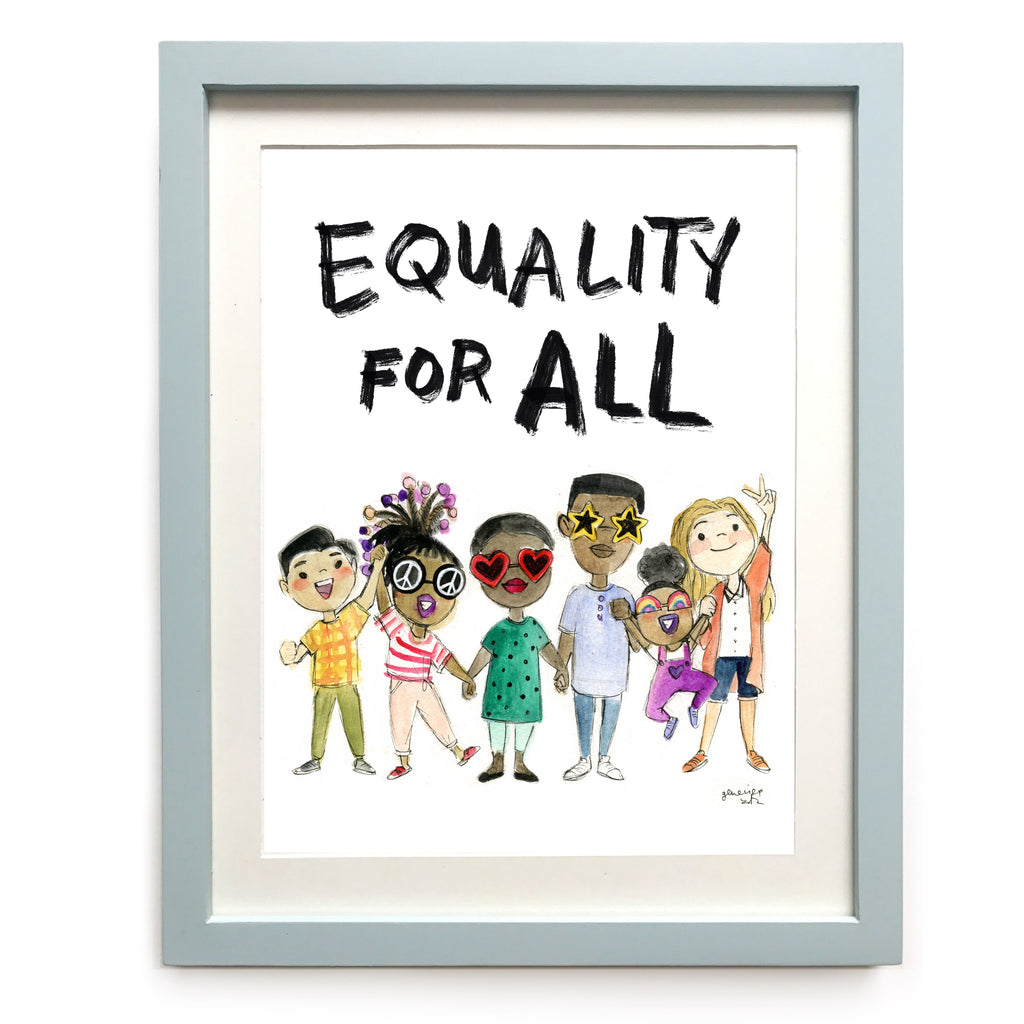Equality for All Art Print