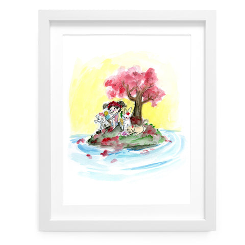 Friendship Island - Limited Edition Art Print