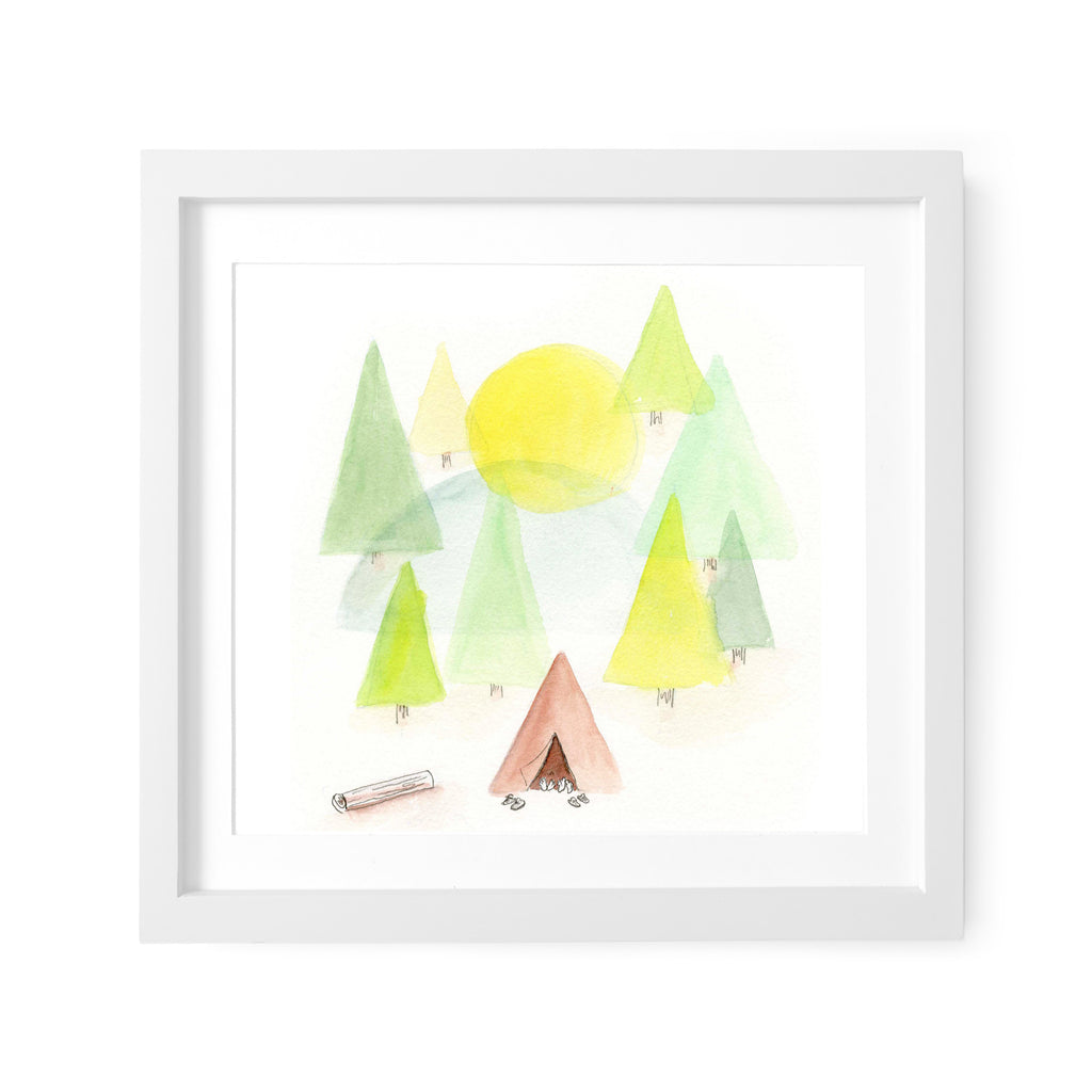 Our Tent Art Print