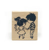Let's Stroll Rubber Stamp