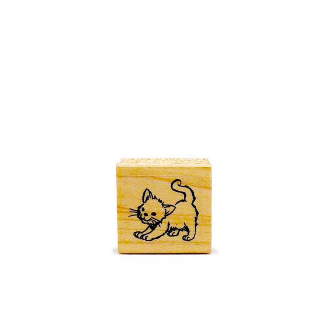 Kitten Rubber Stamp