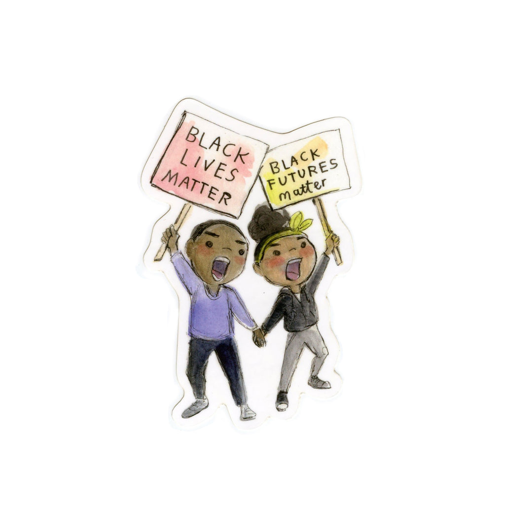 Black Lives Matter Protest Sticker