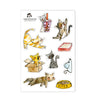 Cat Lover Sticker Set
