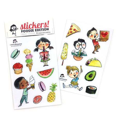 Foodie Sticker Set