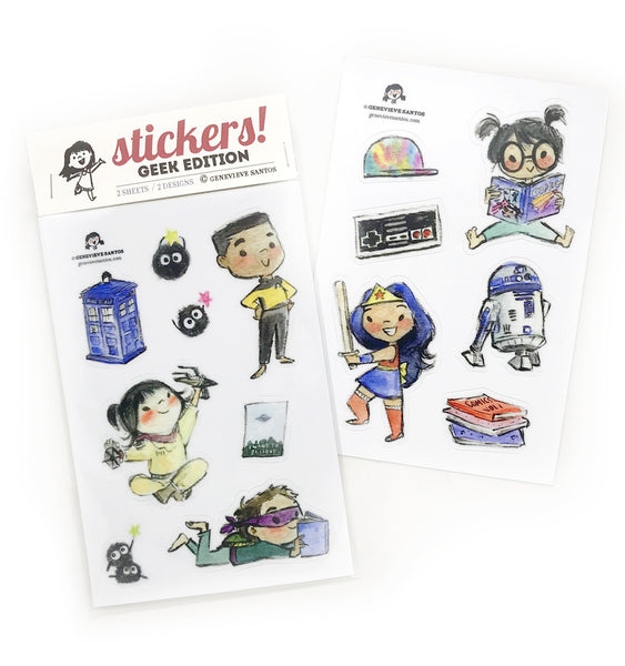 Geek Edition Sticker Set