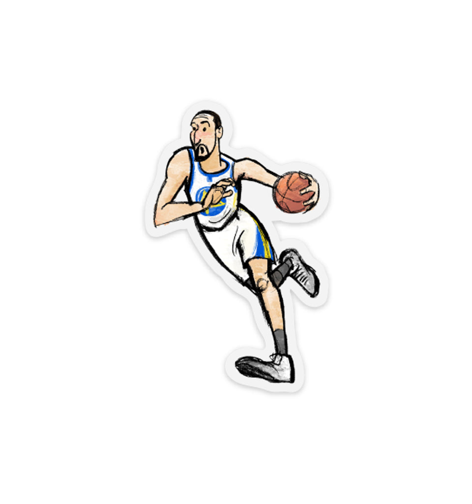 Klay Thompson Vinyl Sticker