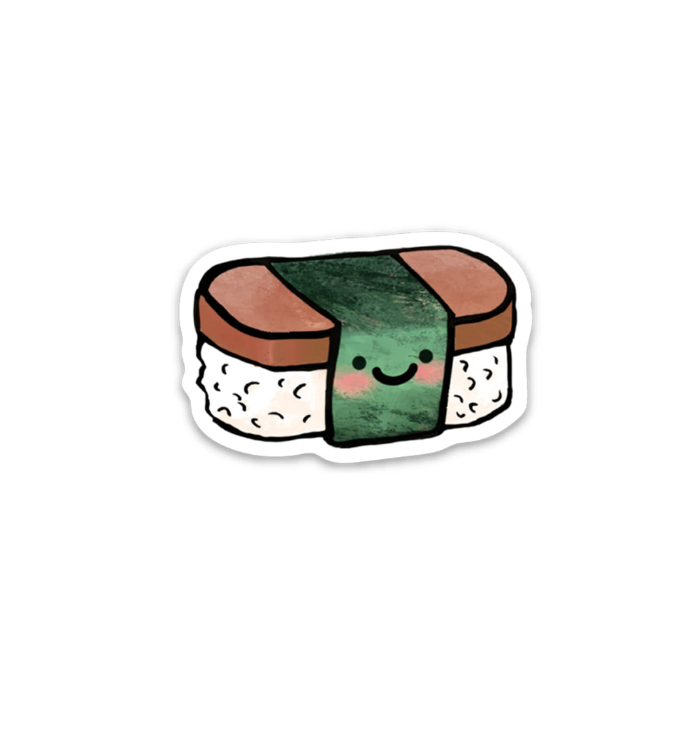Spam Musubi Vinyl Sticker