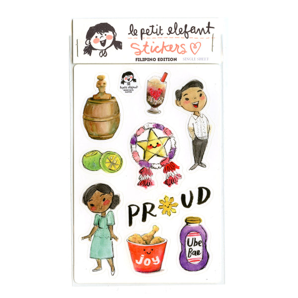 Proud Filipino Sticker Sheet