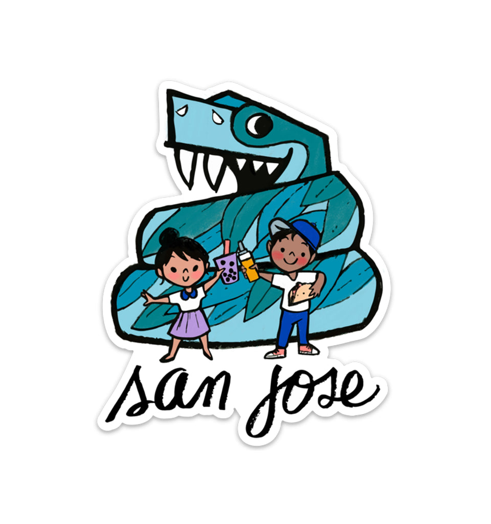 San Jose Vinyl Sticker