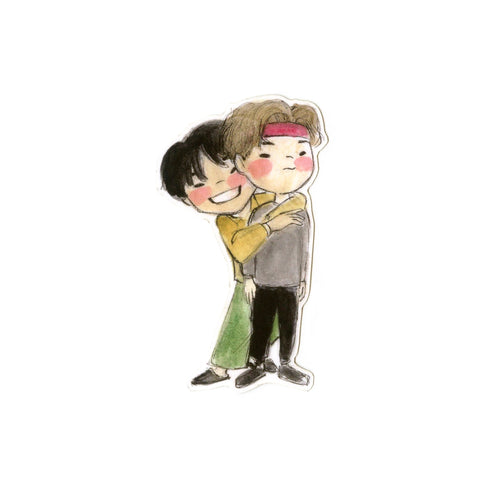 BTS Taegi Sticker