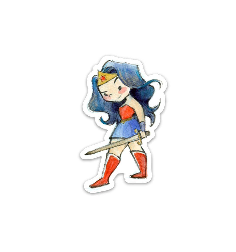 Wonder Woman Vinyl Sticker