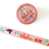 Hawaiian Washi Tape