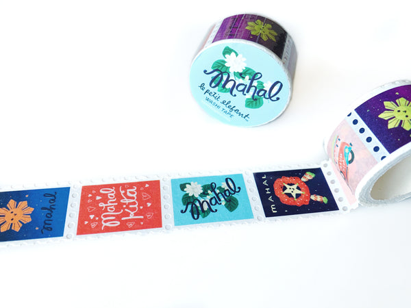 Mahal Kita Stamp Washi Tape