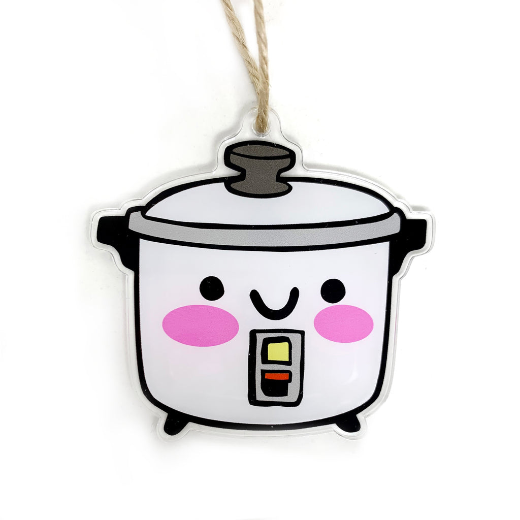 Rice Cooker Holiday Ornament