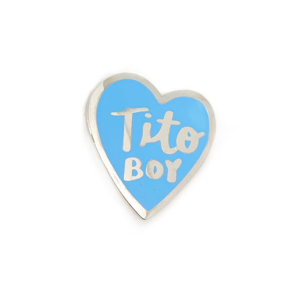 Tito Boy Enamel Pin