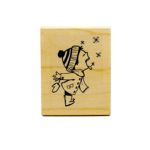 Snowflake Boy Stamp