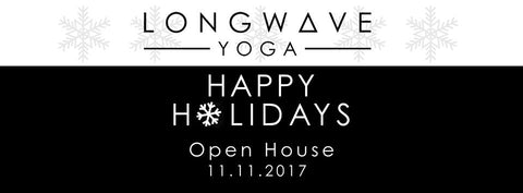 Longwave Yoga Open House, November 11th