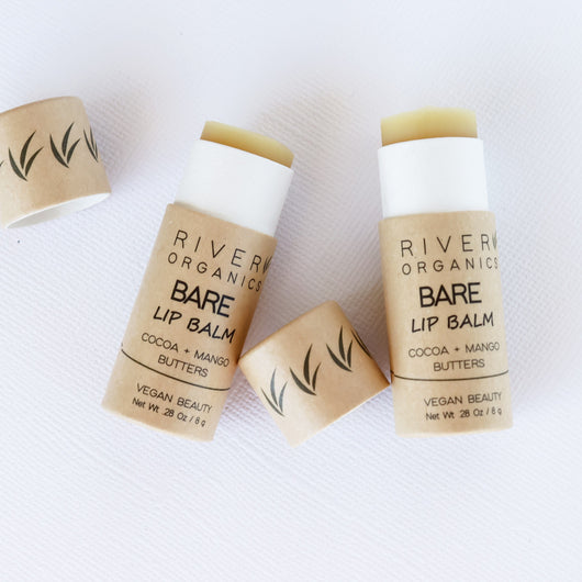 SALE on Select Sets! Lip Balm Set of 2 | Mix & Match River Organics Skincare Bare + Bare