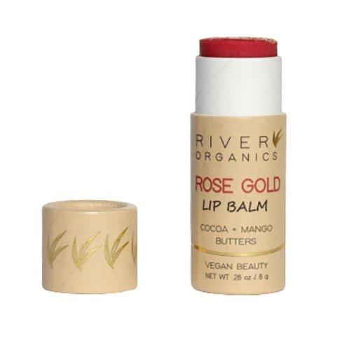 Vegan Lip Balm | Rose Gold River Organics Skincare