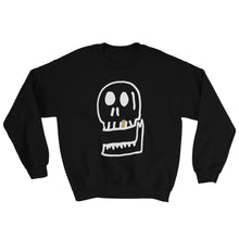 Load image into Gallery viewer, Large Skull Sweatshirt