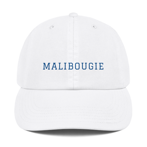 malibougie champion dad hat