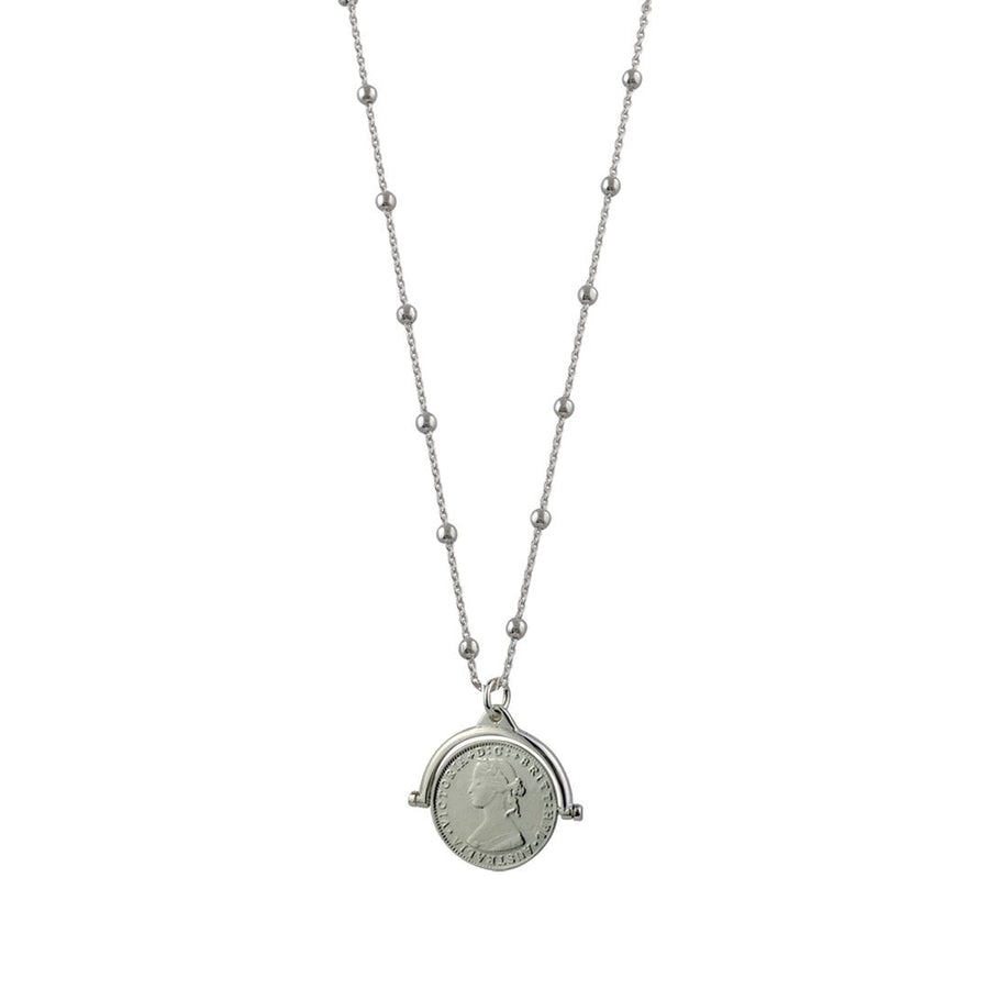 Von Treskow Flip coin ball chain necklace