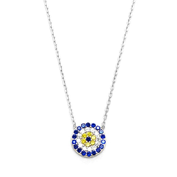Duo Jewellery Evil Eye Necklace