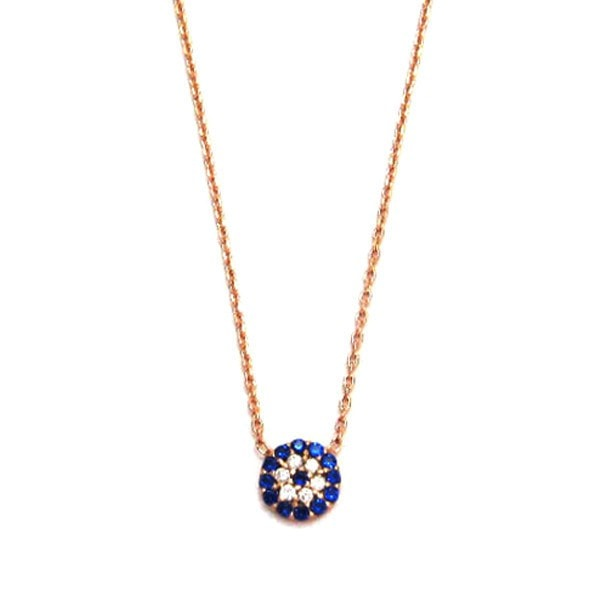 Duo Jewellery Small Evil Eye Necklace