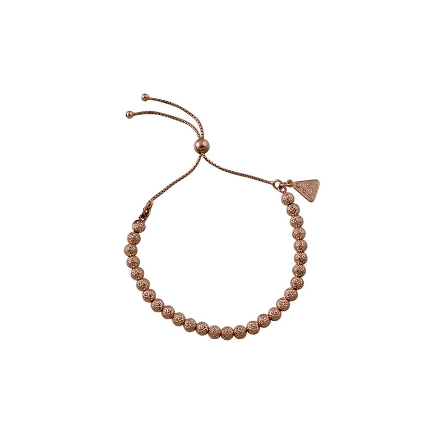 Von Treskow rose gold hammered ball bracelet