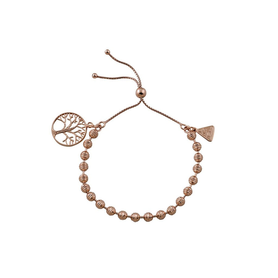 Von Treskow rose gold Tree Of Life bracelet