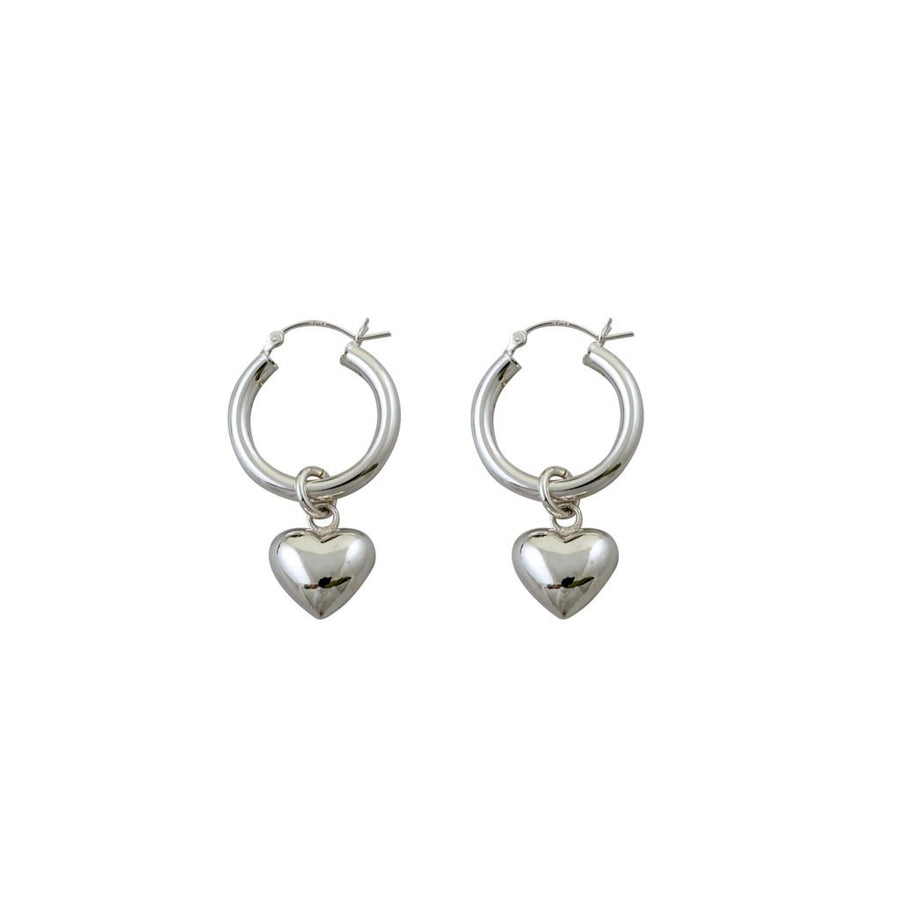 Von Treskow puffy hearts earrings