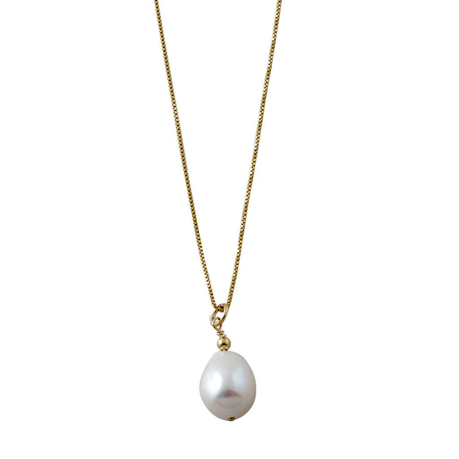 Von Treskow gold pearl necklace