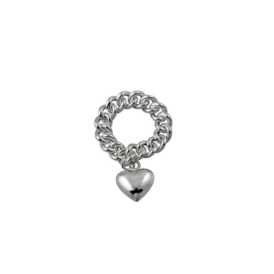 Von Treskow chain ring with heart