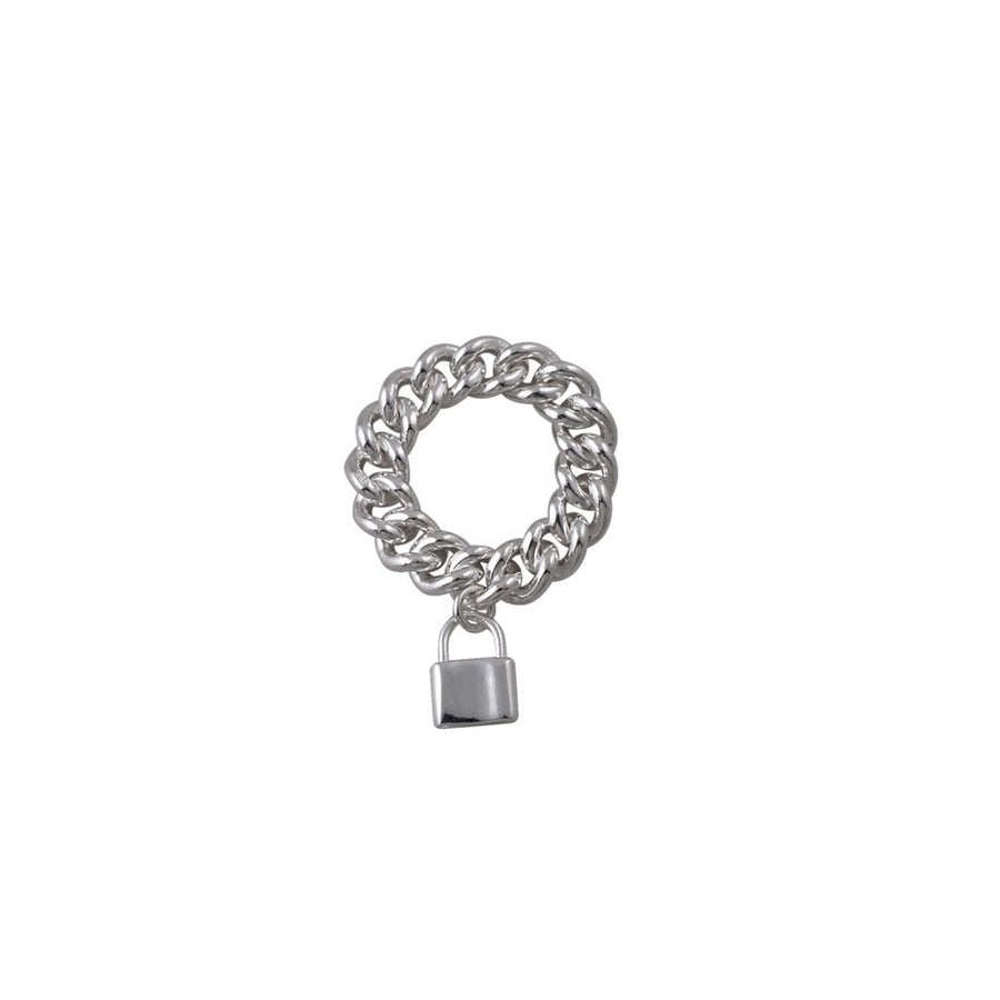 Von Treskow chain ring with lock