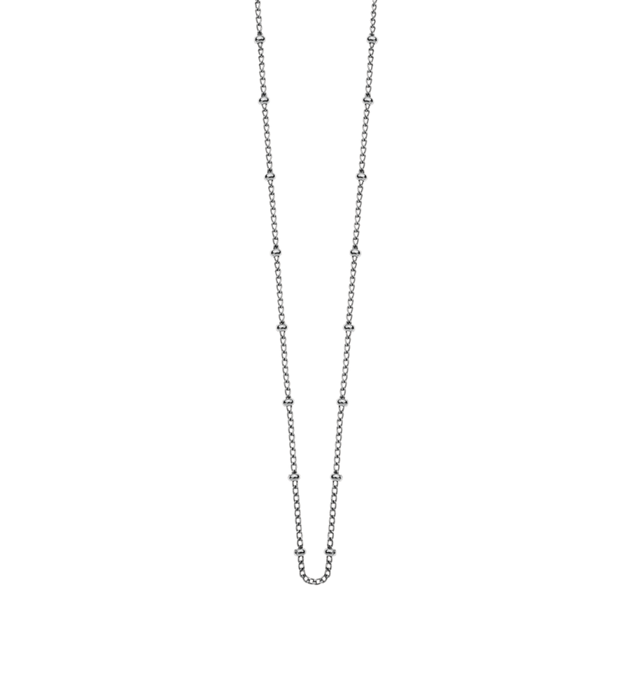 "BALL CHAIN LONG 22-25"" (STERLING-SILVER)"