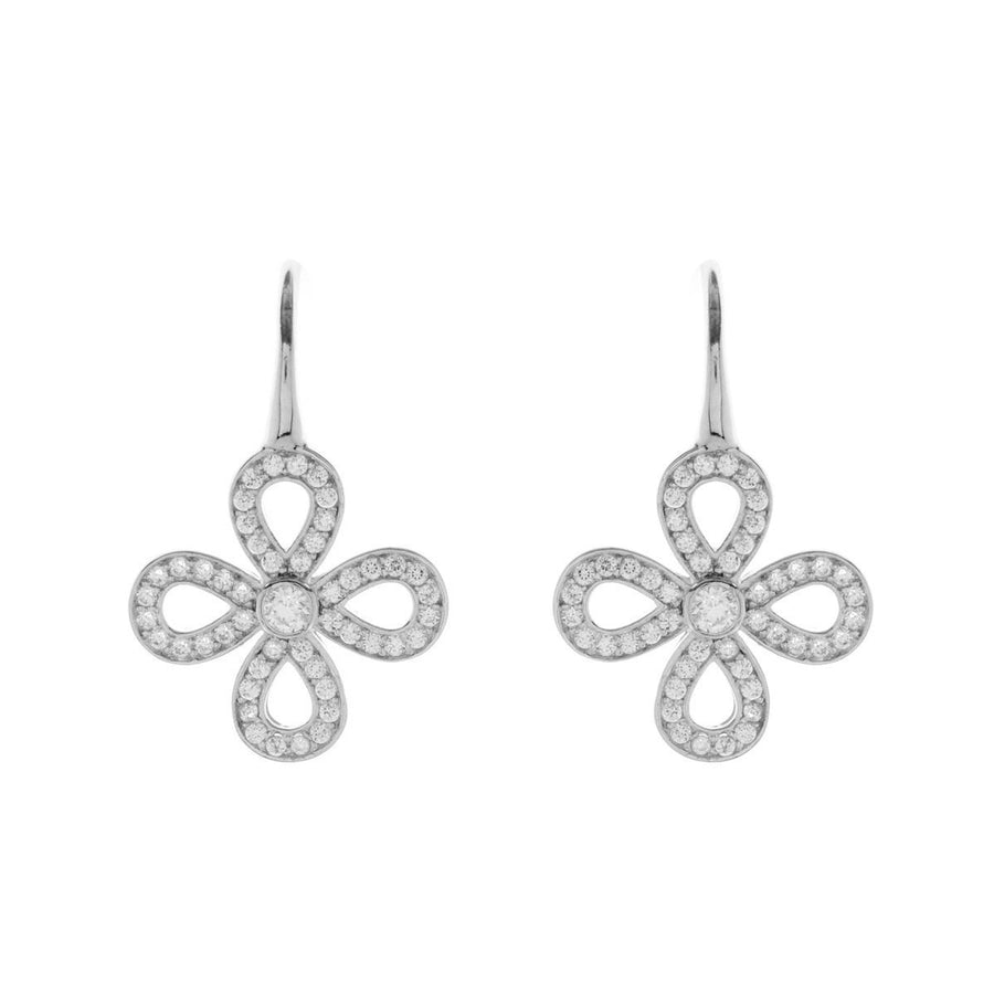 SYBELLA  OPEN FLOWER EARRINGS