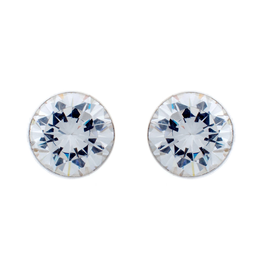 Sybella 9 Mm Cubic Stud Earring