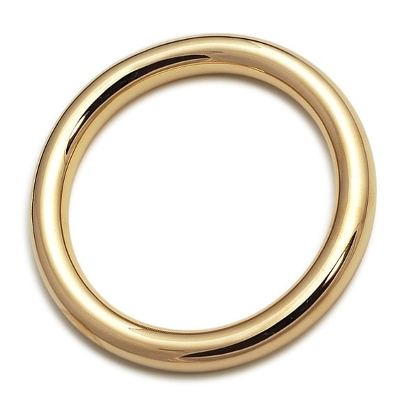 Von Treskow Gold Bangle Bracelet