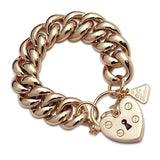 Von Treskow Big Mama Love Heart Locket Bracelet