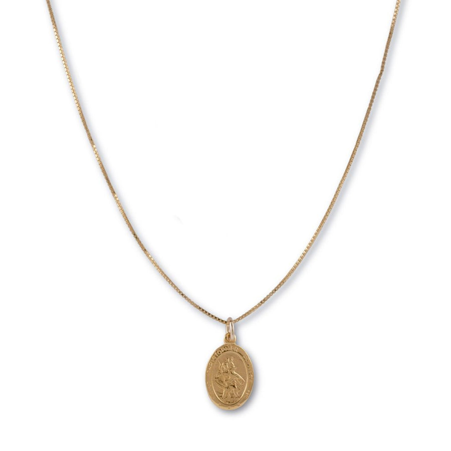 Von Treskow St Christopher necklace