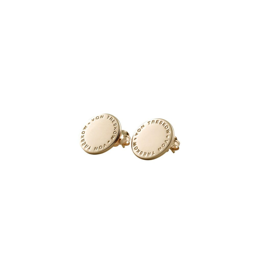 Von Treskow gold Plate earrings