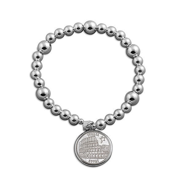 Von Treskow Mixe Ball With Italian Coin Bracelet